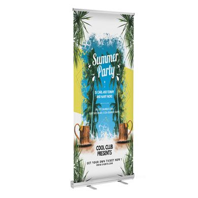 Retractable Banner Stands (Standard)