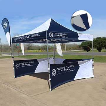 Custom Canopy Tents Double Sided Option