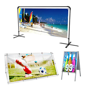 Outdoor Banner Stands Category