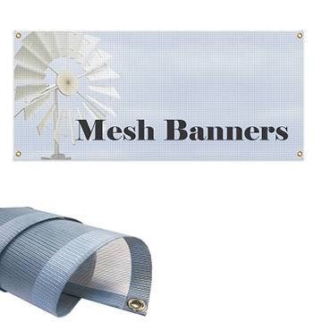 Large Mesh Banners
