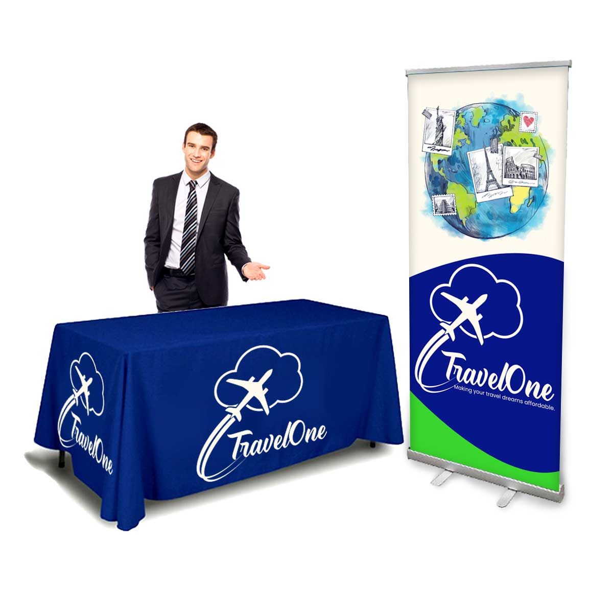 Budget Trade Show Display Kit