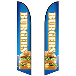 Restaurant Feather banners