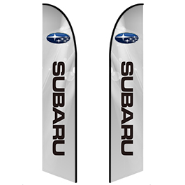 Auto Dealer Feather Banners