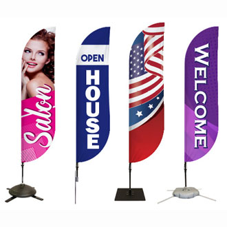 Pre-Designed Feather Flags Category