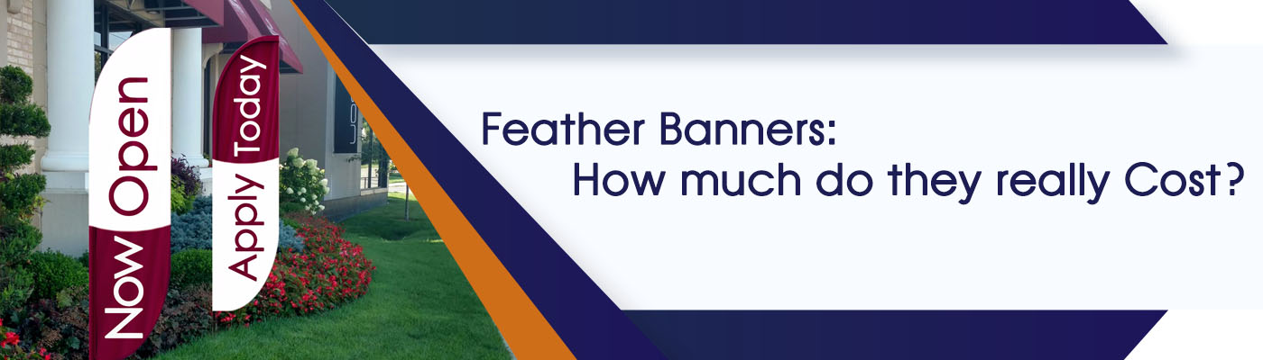 Feather Banners: How Much Do They Really Cost?
