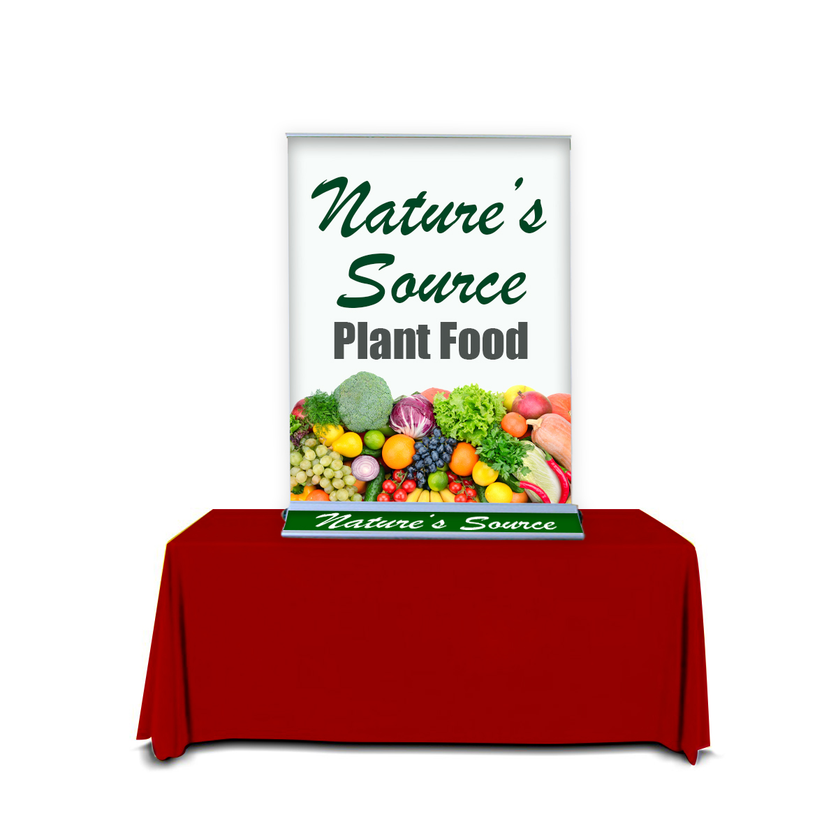 Trade Show Tabletop Displays with Banner Stands Options