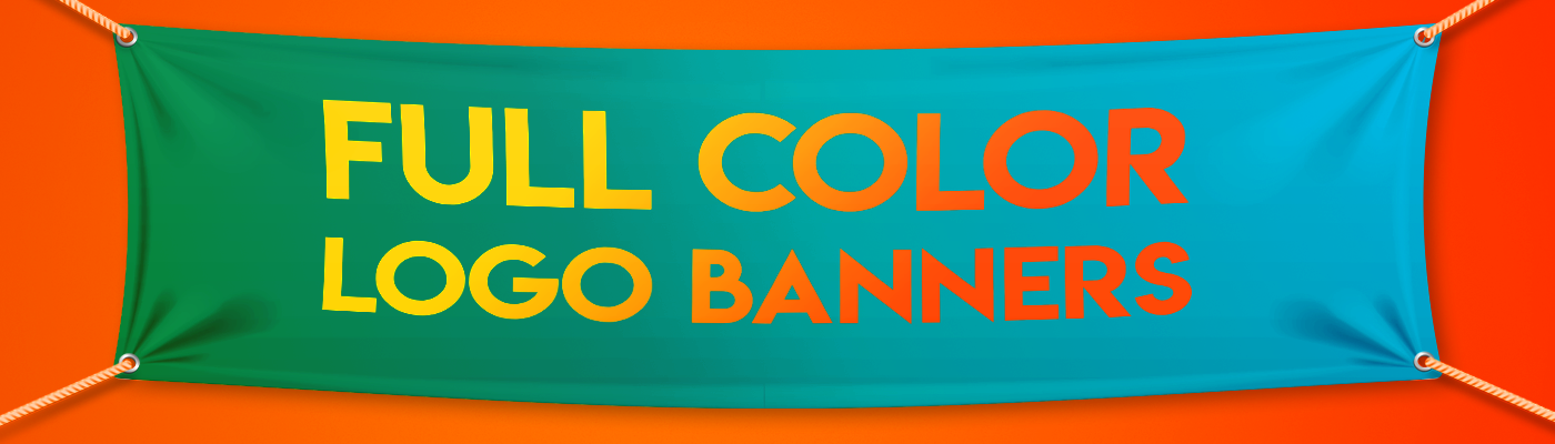 Full Color Logo Banners