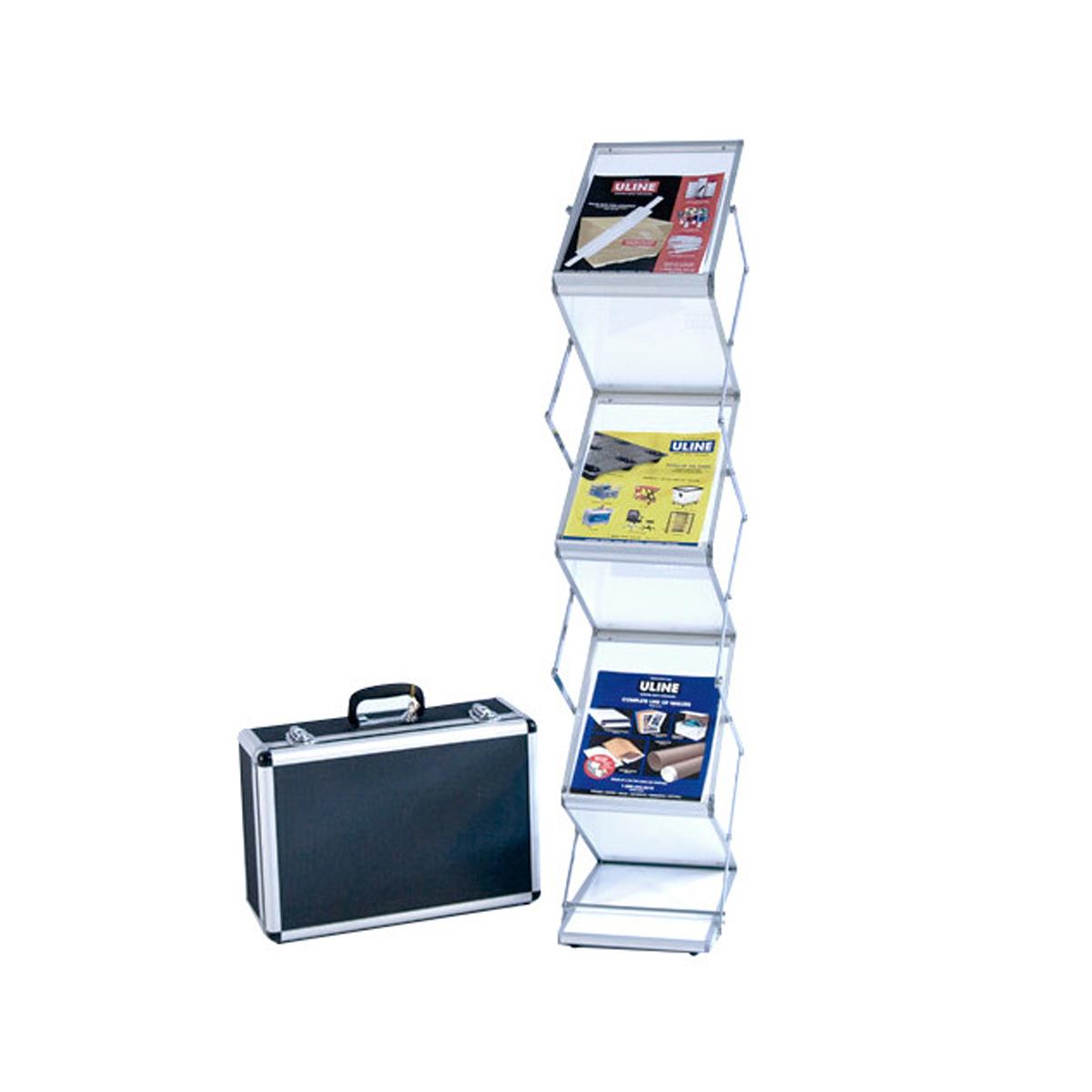 Premium Suitcase Literature Stand