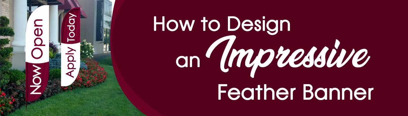 How To Design an Impressive Feather Banner