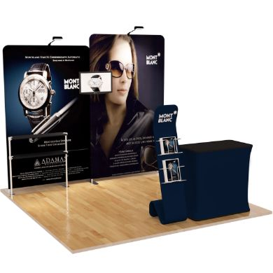 10x10 Trade Show Booth (Design B)