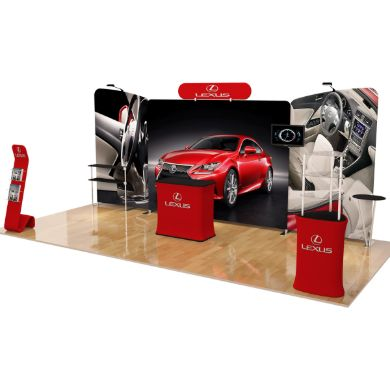 10x20 Trade Show Booth (Design B)