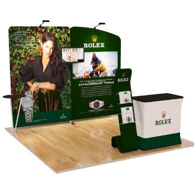 10x10 Trade Show Booth (Design A)