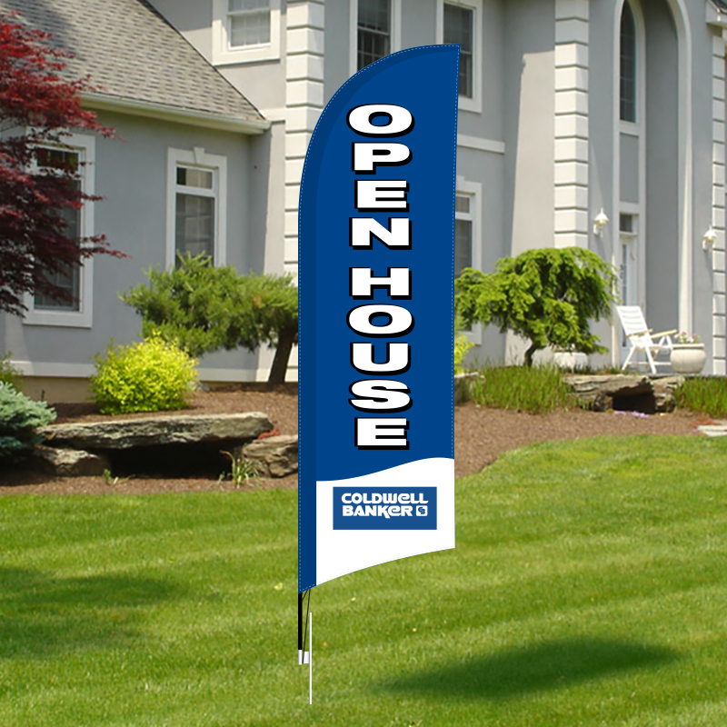 Real Estate Feather Banners