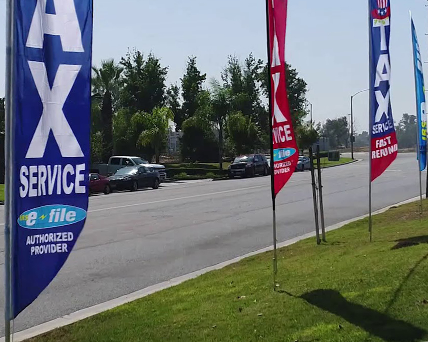 Small Business Feather Banners (Tax Services)