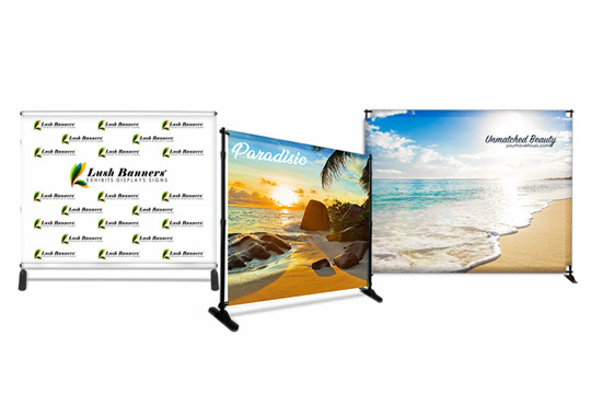 Hanging Banners for Trade Shows Options