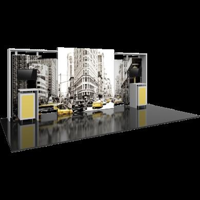 10x20 Modular Trade Show Display Hybrid 02