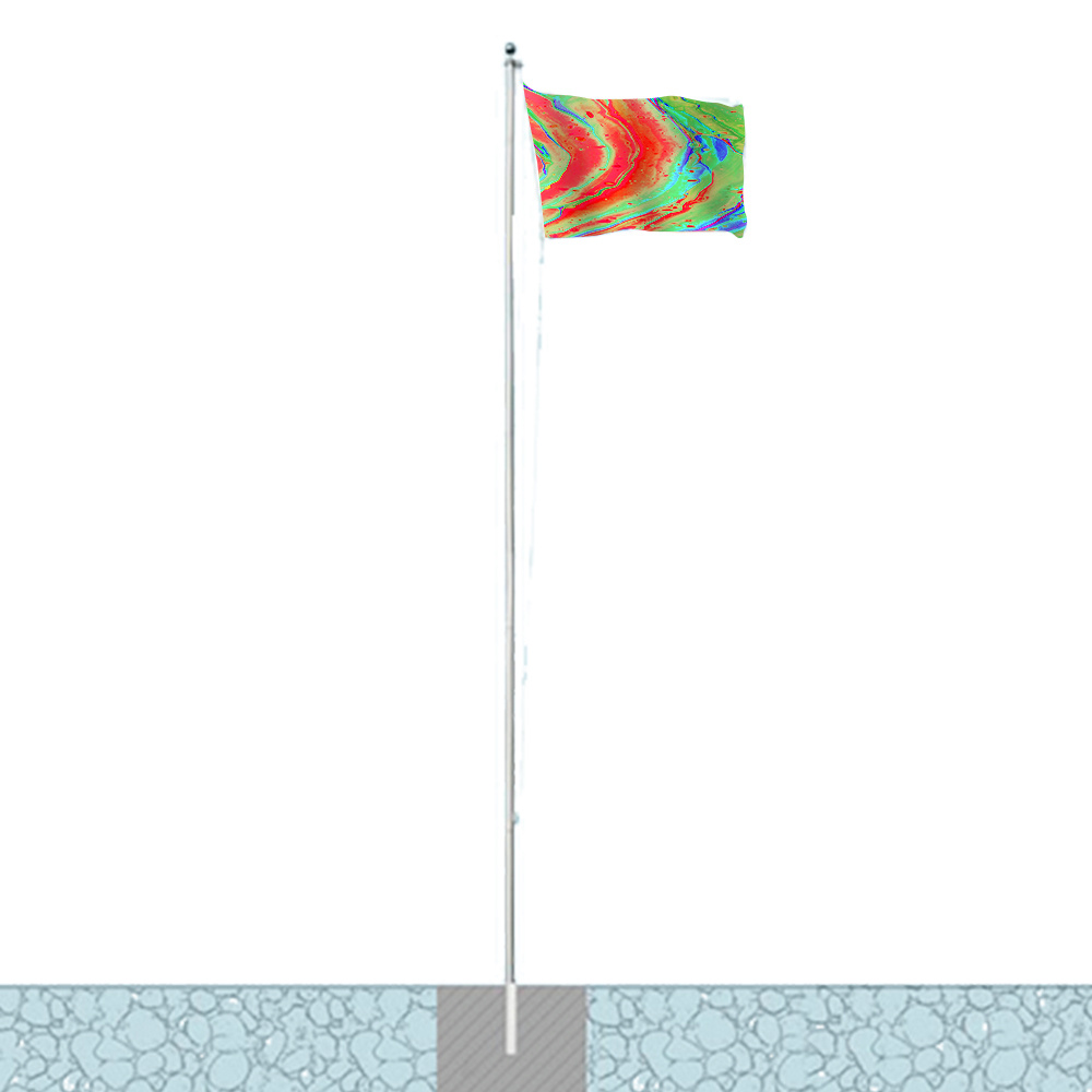 20ft Commercial Flag Pole Kit
