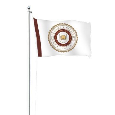 20ft Custom Flag Pole Set