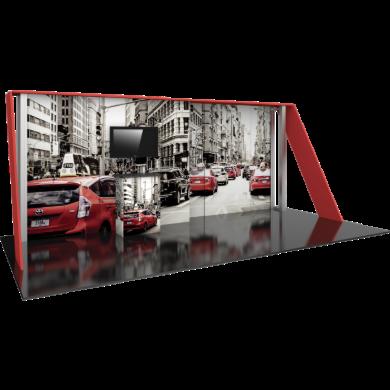 10x20 Trade Show Booth Modular Hybrid 01
