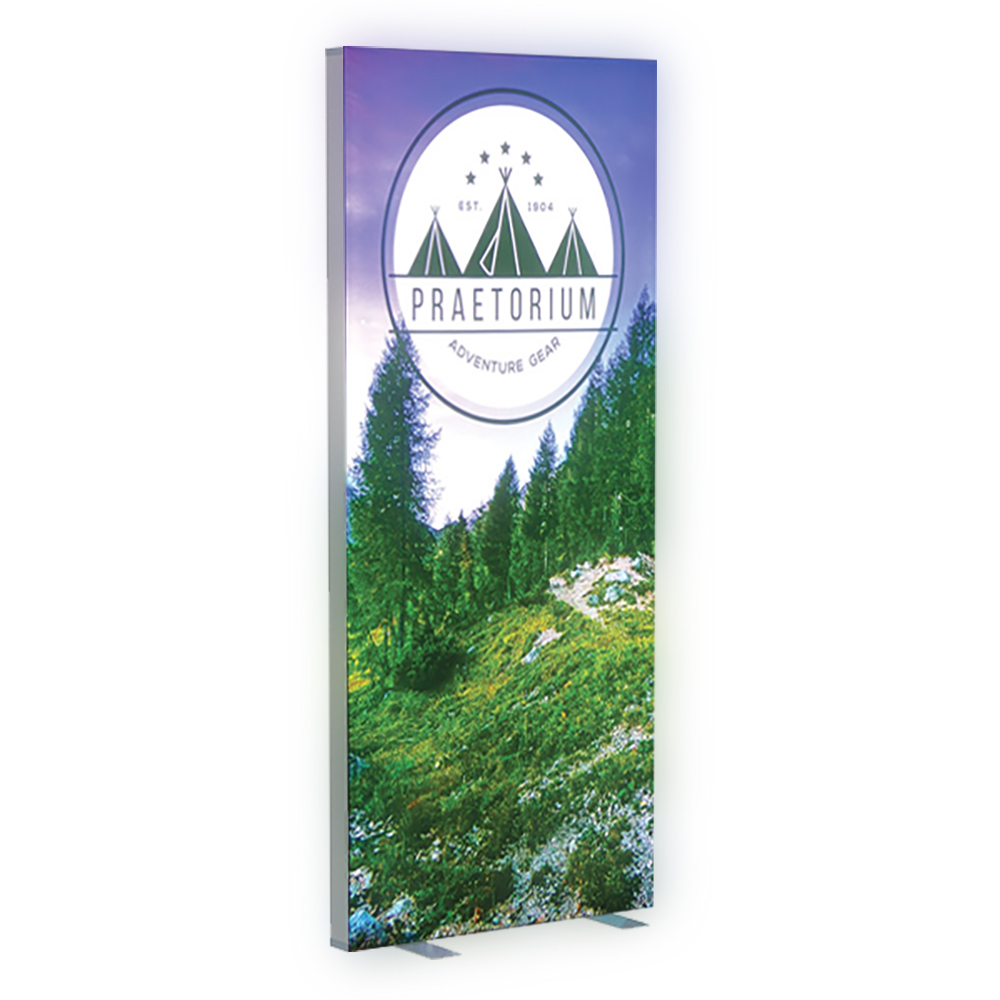 Portable Lightbox Banner Stands