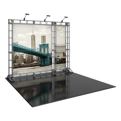 10x20 Modular Trade Show Display Design 04