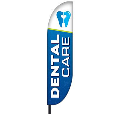 Dental Care Feather Flag Kit 01