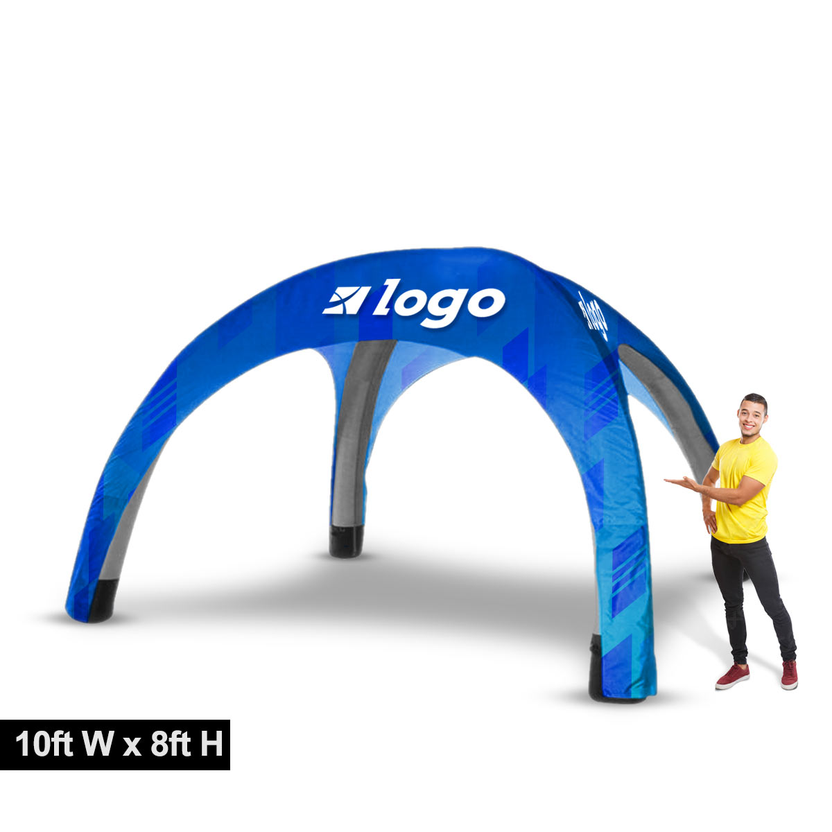 Custom Printed Inflatable Tent 10ft