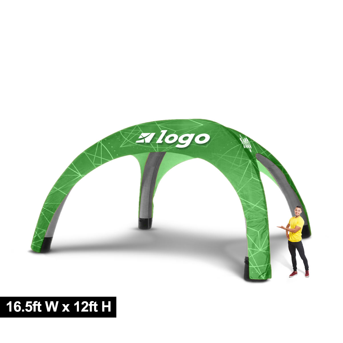 Custom Printed Inflatable Tent 16ft