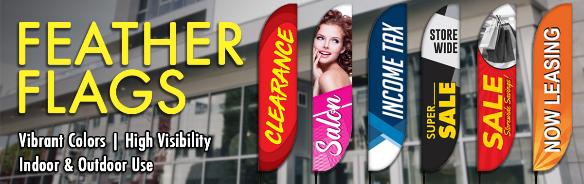 How To Use Feather Banners For Your Business Promotion?