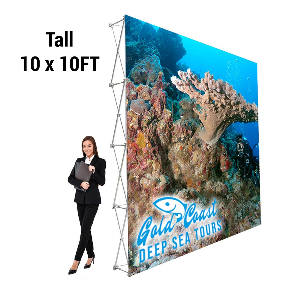 10x10ft Pop Up Display (Straight)