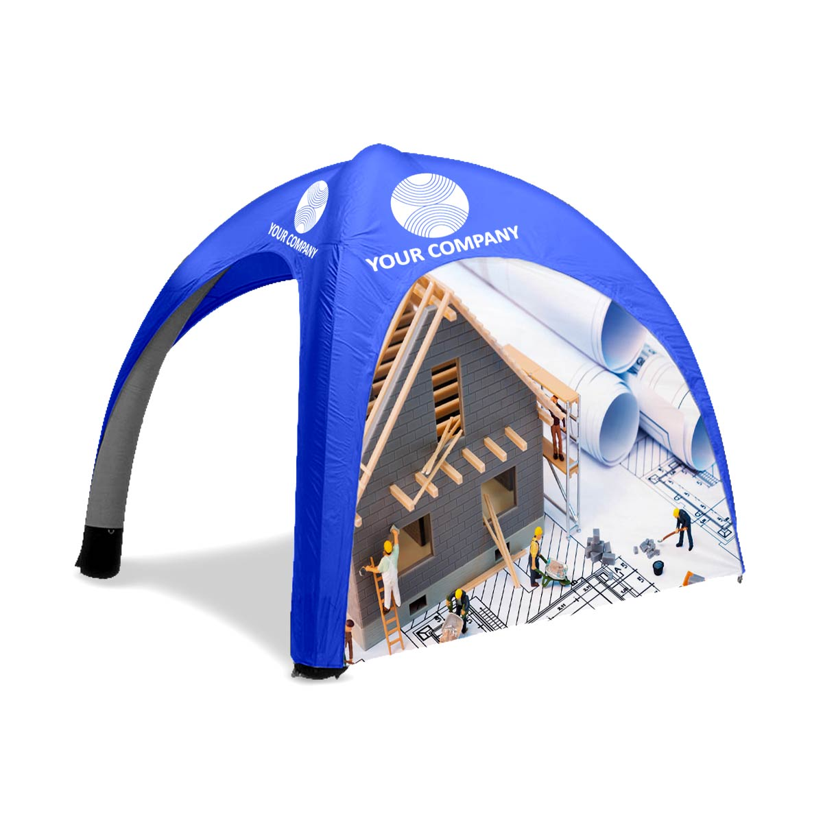 Custom Printed Inflatable Tent Side Wall