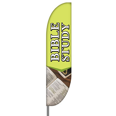 Bible Study Feather Flag Kit - 01