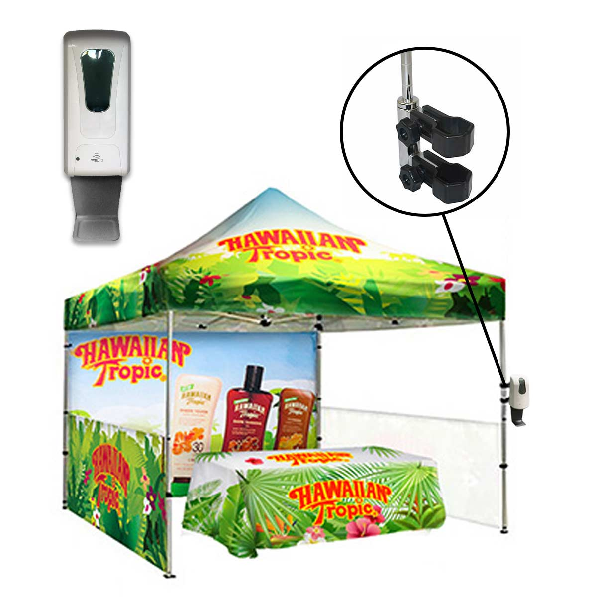 Automatic Sanitizer Dispenser For Tents