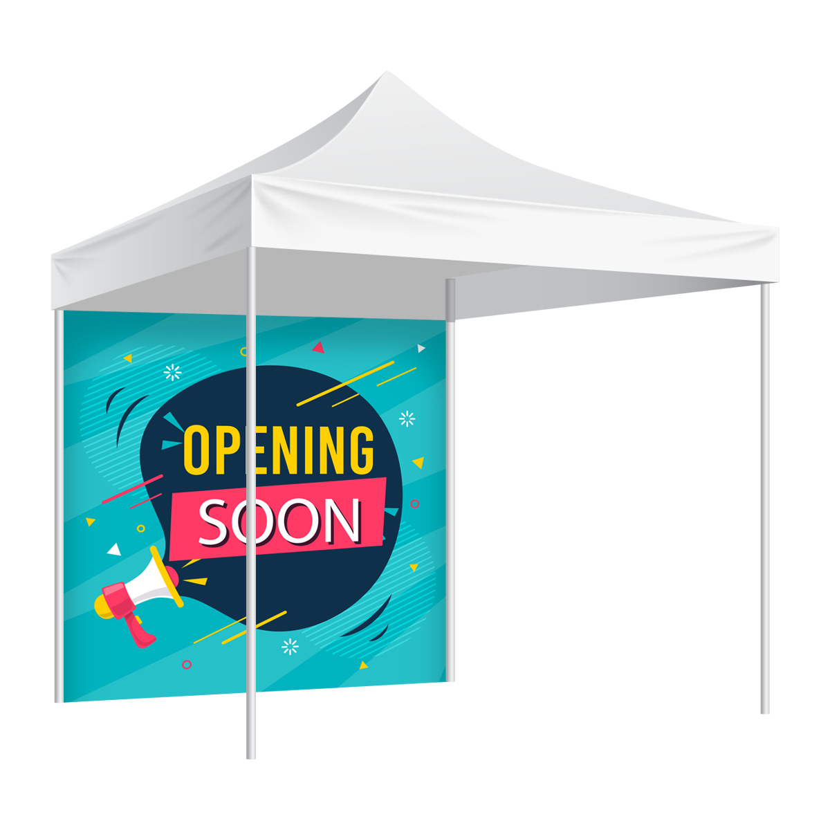 Custom Printed Full Wall For Canopy Tent