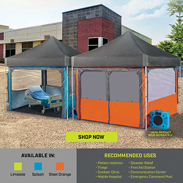 Custom Canopy Tents for Trade Show Options