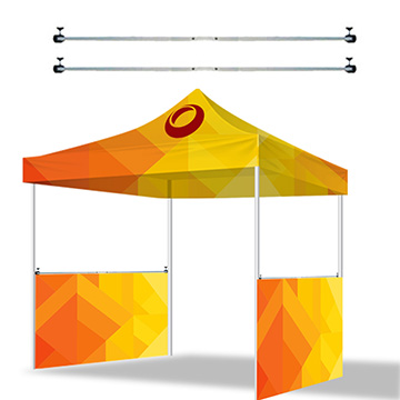 Custom Canopy Tents Aluminum Side Rails Accessory