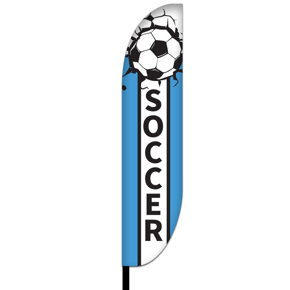 Soccer Flags Design 02