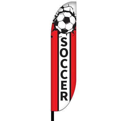 Soccer Flags Design 03