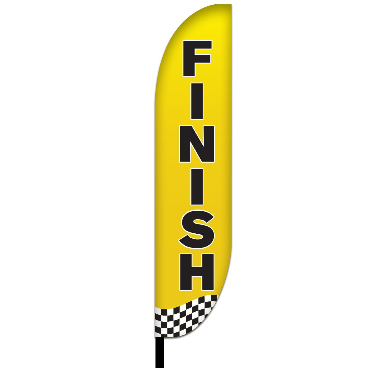 Finish Flags Design 01
