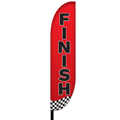 Finish Flags Design 02