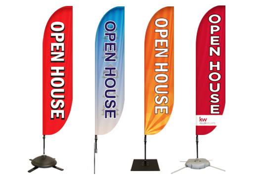 Open House Feather Banners Profile