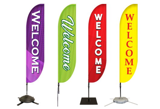 Welcome Feather Banners Profile