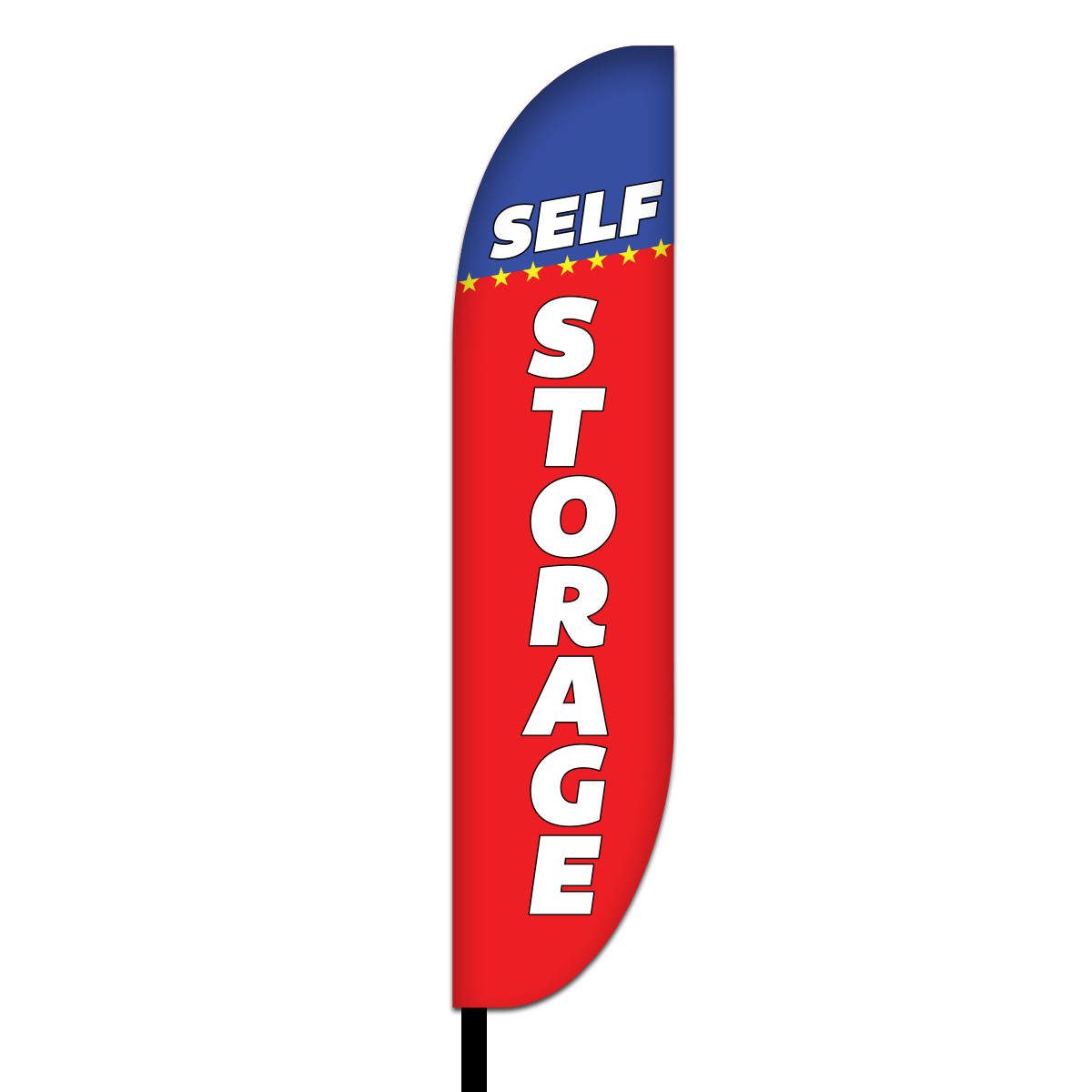Storage Feather Flag Design 01