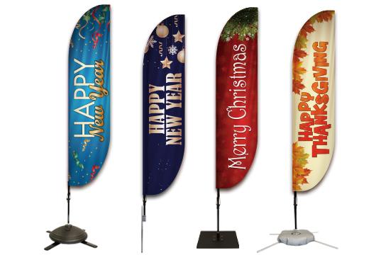 Seasonal Holiday Flags Profile