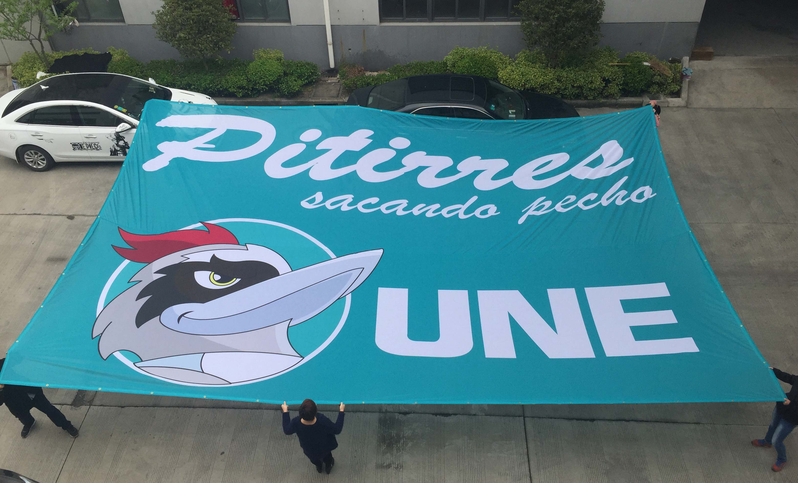 Large Fabric Banners - 9oz