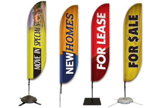 Real Estate Feather Banners Profile