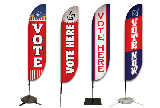 Political Feather Banners Profile