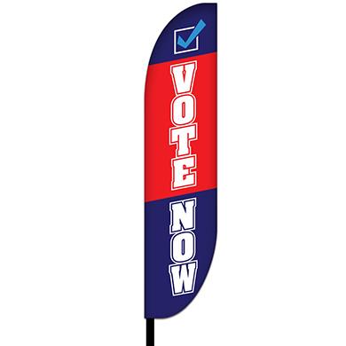Political Vote Flag Design 04