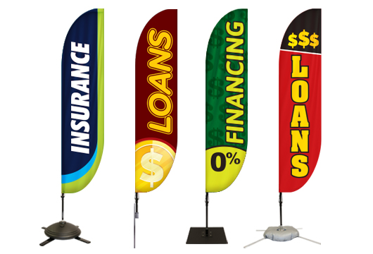 Finance Feather Banners Profile