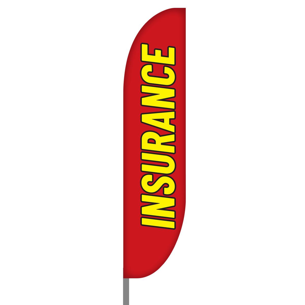 Insurance Flag Design 04